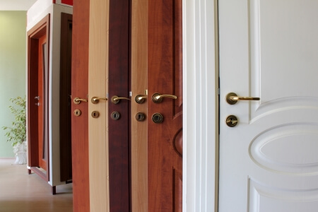 styles of doors and handles